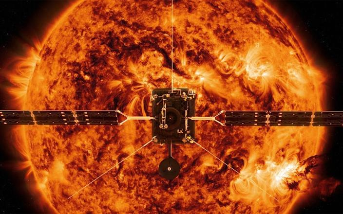 The probe will fly closer to the sun than any previous spacecraft (NASA)