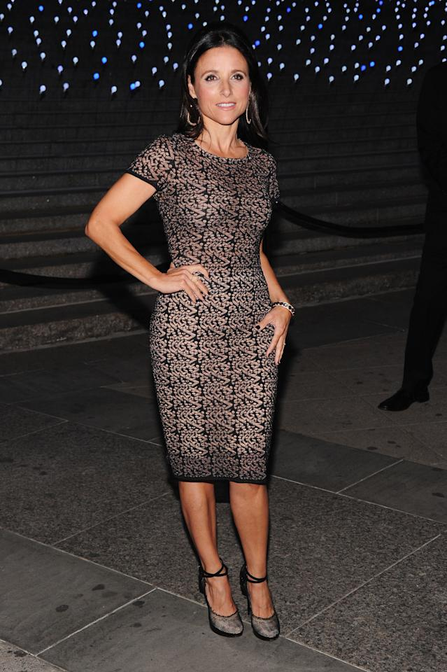 NEW YORK, NY - APRIL 17:  Actress Julia Louis-Dreyfus attends the Vanity Fair Party during the 2012 Tribeca Film Festival at the State Supreme Courthouse on April 17, 2012 in New York City.  (Photo by Jamie McCarthy/Getty Images)