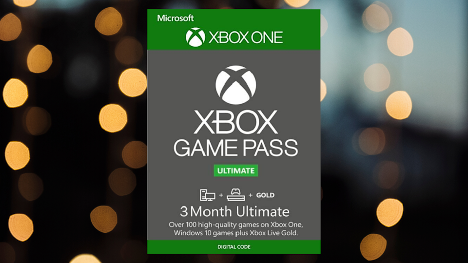 Save $ 12 on three months of Xbox games. (Photo: Microsoft)