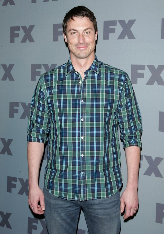 "Rob Rosell (""<a href=""http://tv.yahoo.com/unsupervised/show/47788"">Unsupervised</a>"") attends FX's 2012 Upfronts at Lucky Strike on March 29, 2012 in New York City."