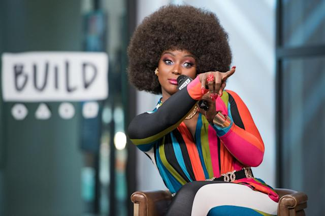 Amara La Negra visits Build Series to discuss 'Love and Hip Hop Miami' at Build Studio on Feb. 7, 2018. (Mike Pont via Getty Images)