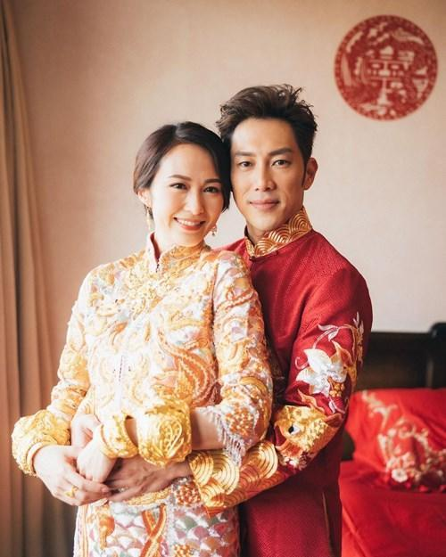Shing and Kathy tied the knot in January this year
