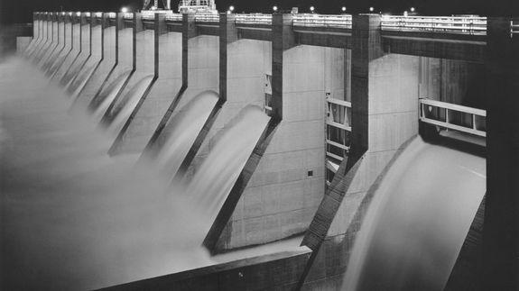 A New Deal project: the Chickamauga Dam.
