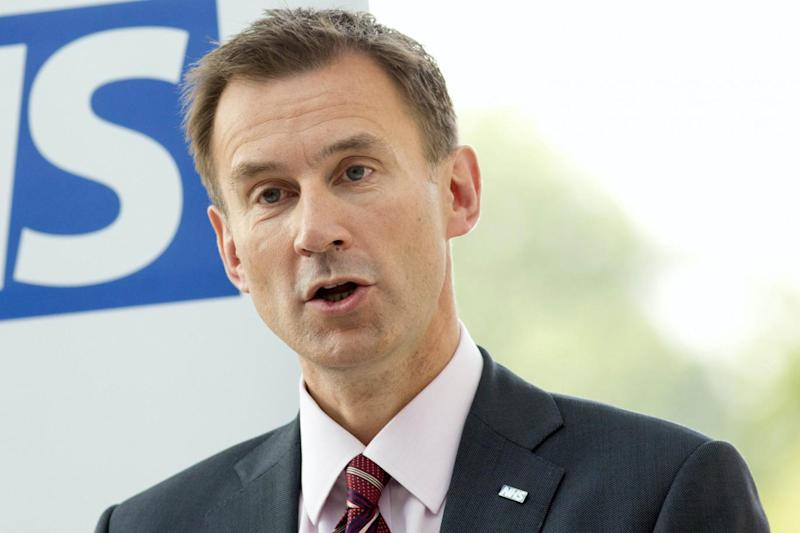 Jeremy Hunt has faced criticism during his time as health secretary over last year's junior doctors strikes (Neil Hall/PA)