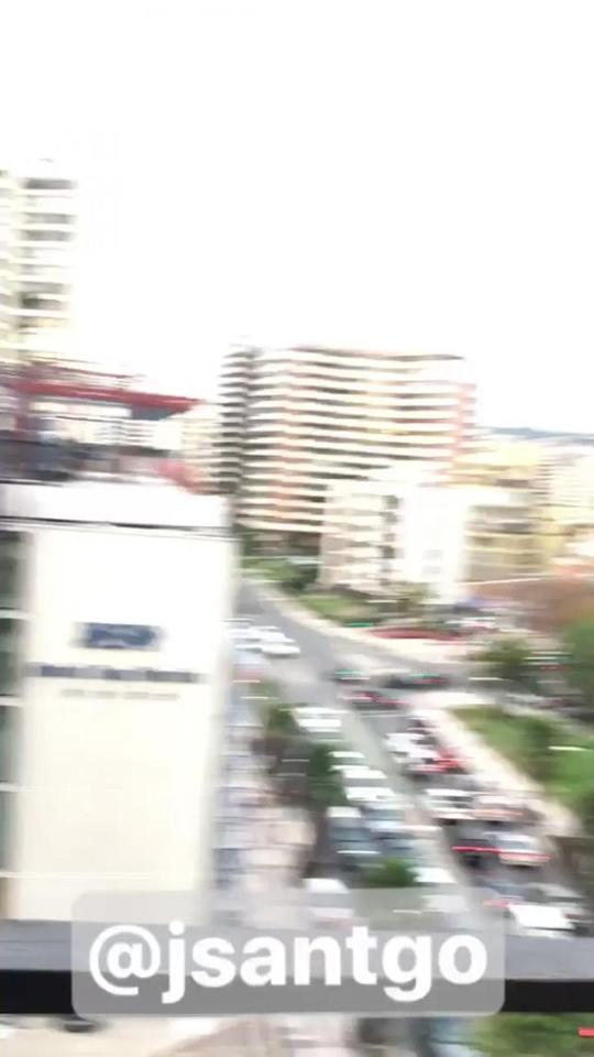 Man Films Moment Chile Earthquake Violently Shakes Apartment Building