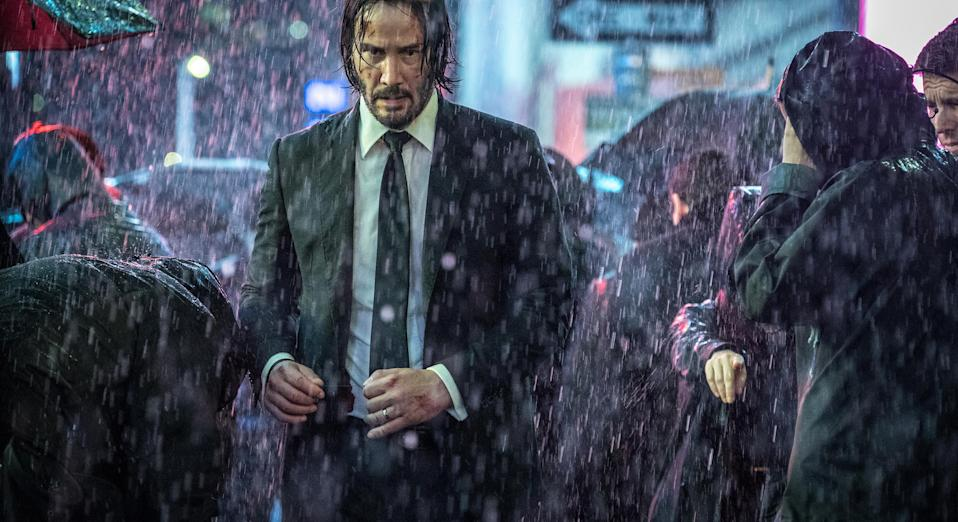 Keanu Reeves returns to The Continental in first John Wick 3 poster (credit: Lionsgate)