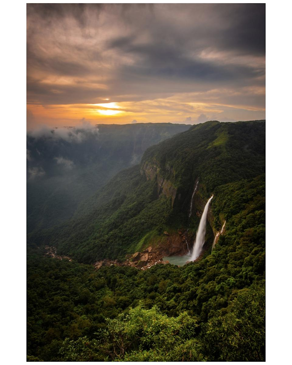Photo taken in Cherrapunji, India