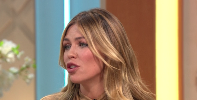 Abbey Clancy defended her daughter's modelling debut.