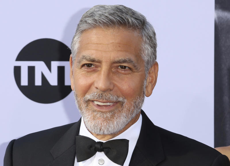 George Clooney injured in Sardinia scooter crash