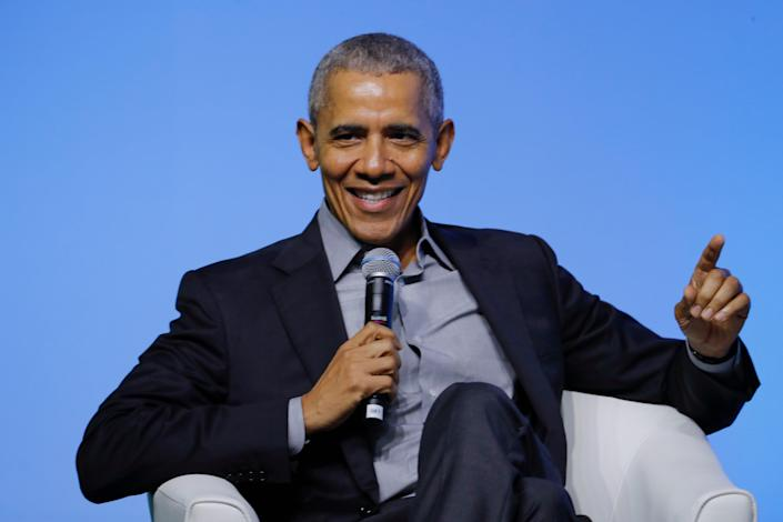 File: Barack Obama plans to host a birthday bash even as concerns remain over the Covid pandemic (AP)