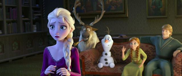 """Frozen 2 tells a fantastical tale infused with an environmental message as """"Frozen sisters"""" Elsa and Anna try to save humanity and the environment. (Disney)"""
