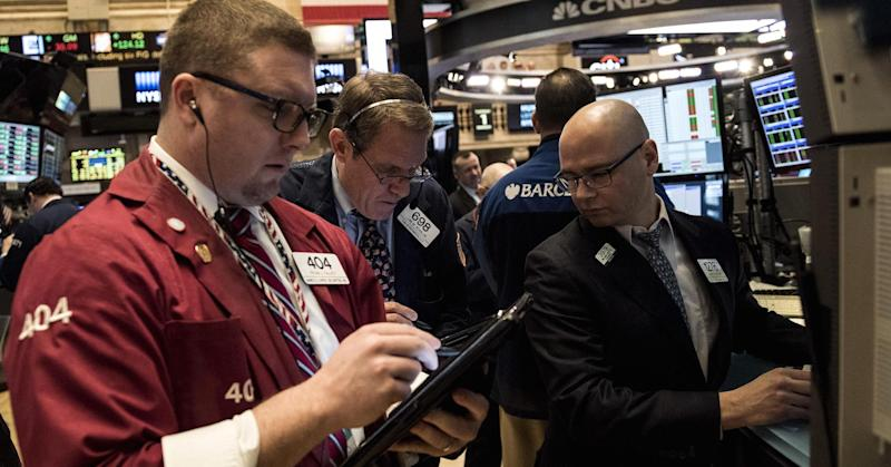 Dow comes within a fraction of a point from 20,000