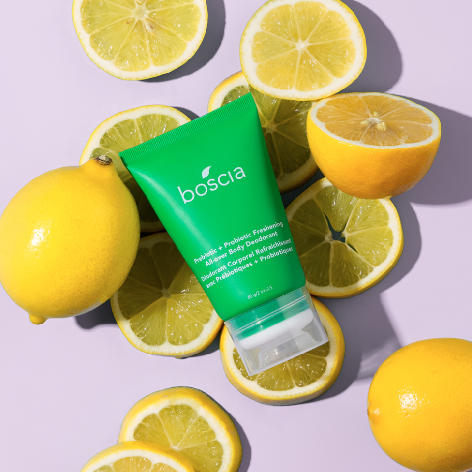 92 per cent of Boscia customers that have tried the new Prebiotic + Probiotic Freshening All-Over Body Deodorant would recommend it to a friend - here's why.