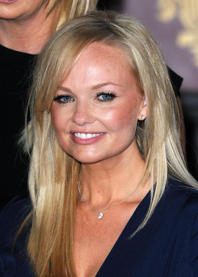 LONDON, UNITED KINGDOM - JUNE 26: Emma Bunton attends launch of new musical based on the Spice Girls' music at St Pancras Renaissance Hotel on June 26, 2012 in London, England. (Photo by Dave Hogan/Getty Images)