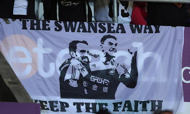 Swansea City's tactics at times last season were a million miles away from the old passing ethos instilled by Roberto Martínez and Brendan Rodgers.