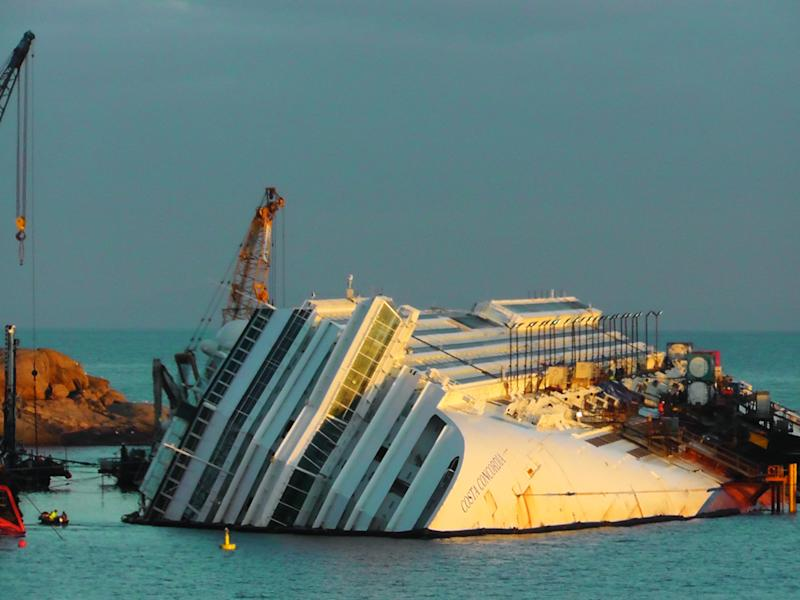 More money, time needed to remove Concordia wreck