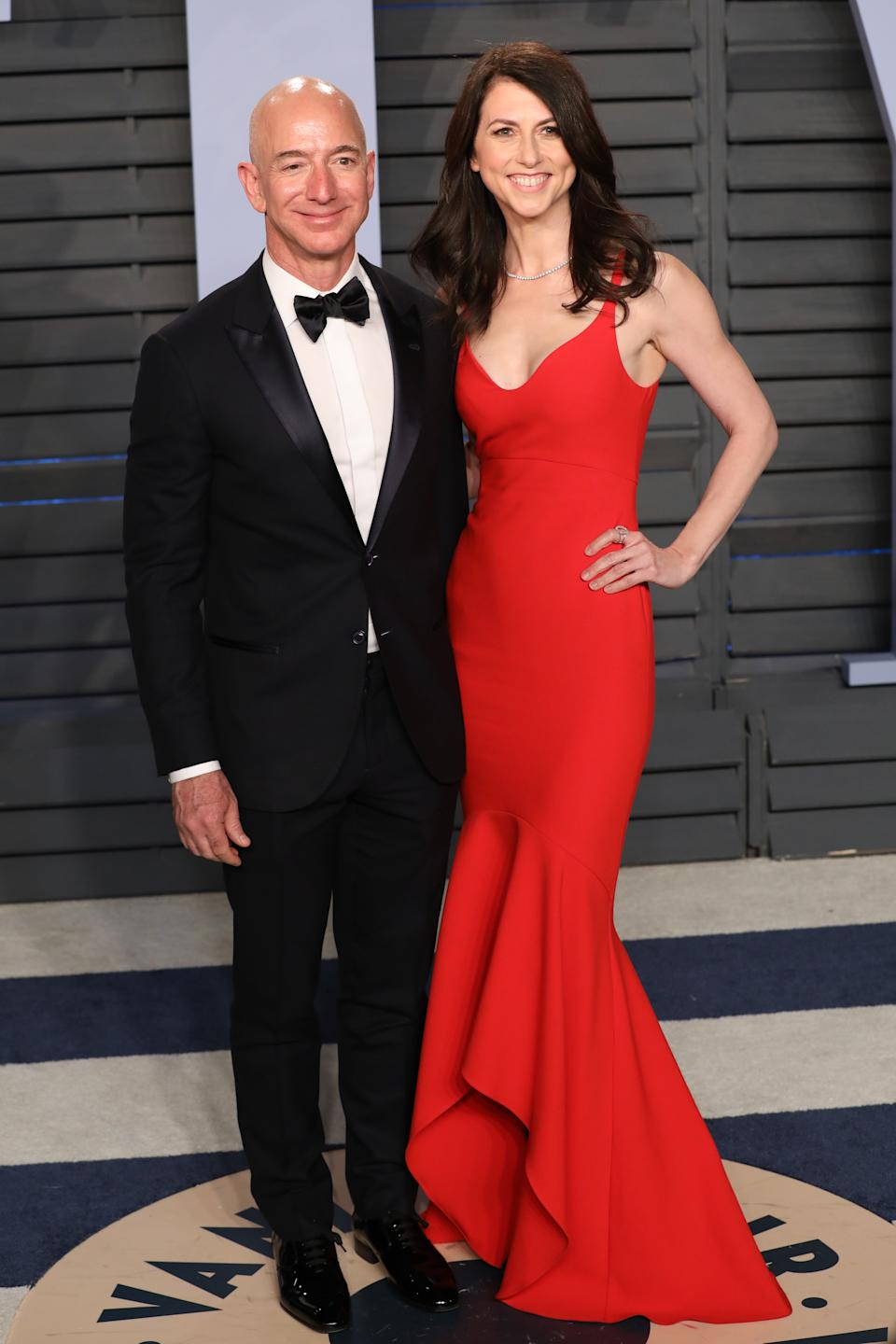 On January 9, 2019, Bezos and his wife of 25 years, MacKenzie, announced on Twitter their intent to divorce after a 'long period' of separation. On April 4, 2019, the divorce was finalised, with Bezos keeping 75% of the couple's Amazon stock and MacKenzie getting the remaining 25% ($35.6 billion) in Amazon stock. However, Bezos would keep all of the couple's voting rights.