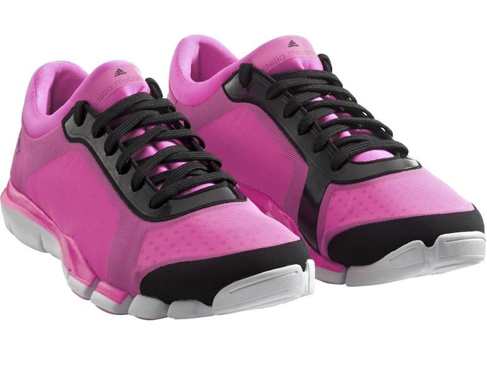 <p>1. Neon pink</p><p>£110, Stella McCartney for Adidas, adidas.co.uk</p><p>McCartney designed the Team GB kit, and has dabbled in sportswear before. These have her clean, functional, feminine aesthetic.</p>