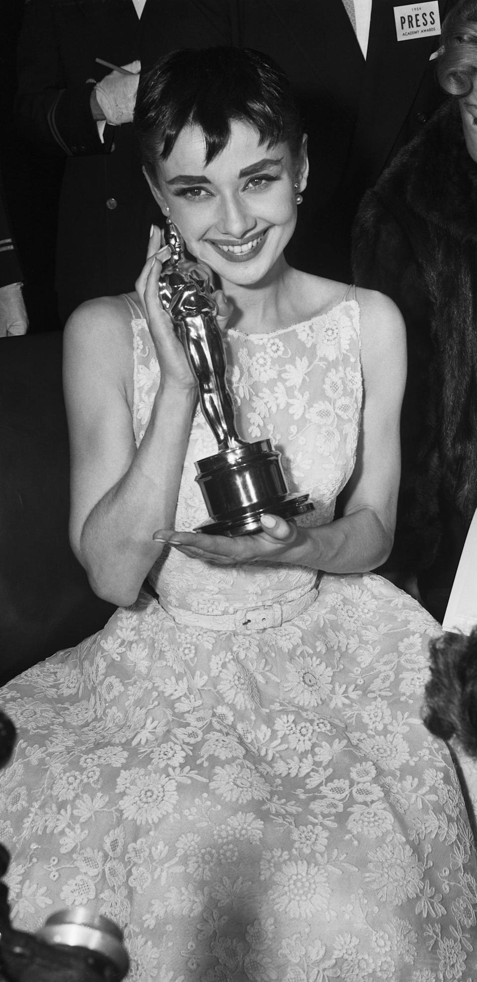 <p>Audrey's timeless Givenchy dress and belt will forever go down in history.</p>