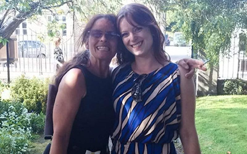 Heather Whitbread, 53, (left) and her daughter Michelle Poskitt, 32, (right), have been identified by police as the victims shot dead by a gunman in St Leonard's on Sea, East Sussex - Facebook/Enterprise News and Pictures