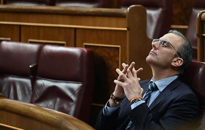 El diputado de Vox, Javier ortega Smith. (Photo: EFE)