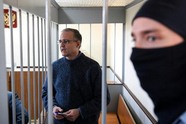 Paul Whelan was arrested in December after allegedly receiving state secrets (AFP Photo/Kirill KUDRYAVTSEV)