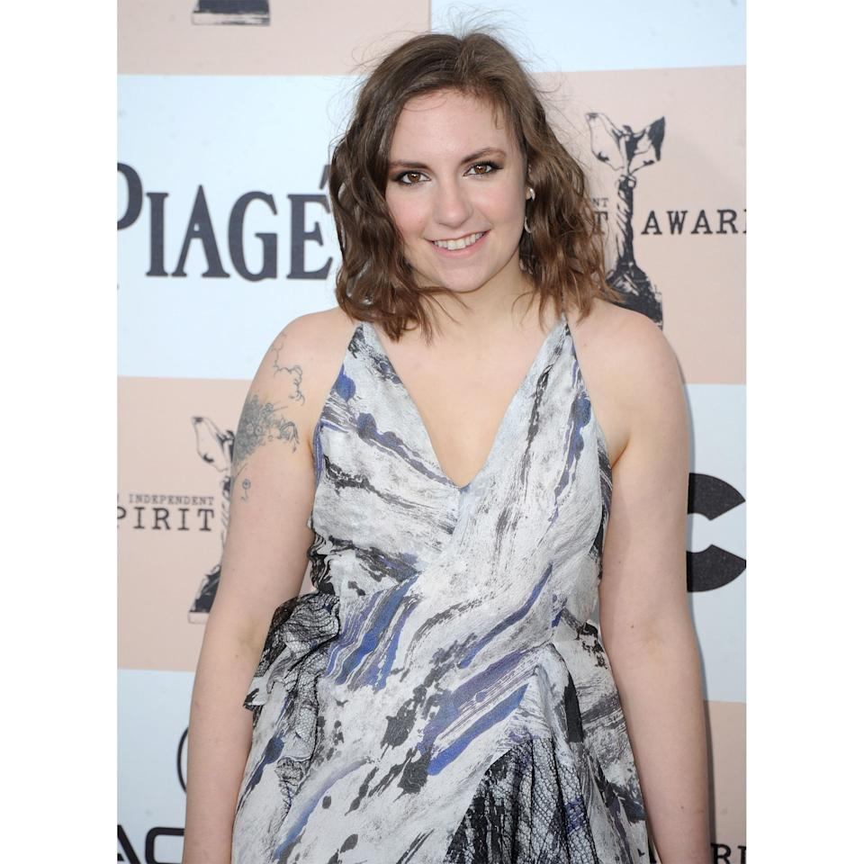 <p>The actress went boho from head-to-toe with beachy waves, earthy brown shadow, and a geode-printed dress.</p>
