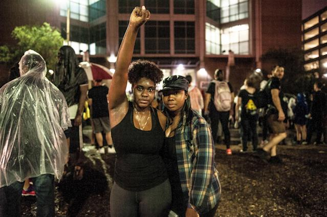 L.B., 24, and Kimberly Ann Collins, 25. (Joseph Rushmore for HuffPost)