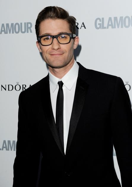 A spectacle wearing Matthew Morrison arrives at the Glamour Women of the Year Awards at Berkeley Square Gardens, London, on June 7, 2011  -- Getty Premium