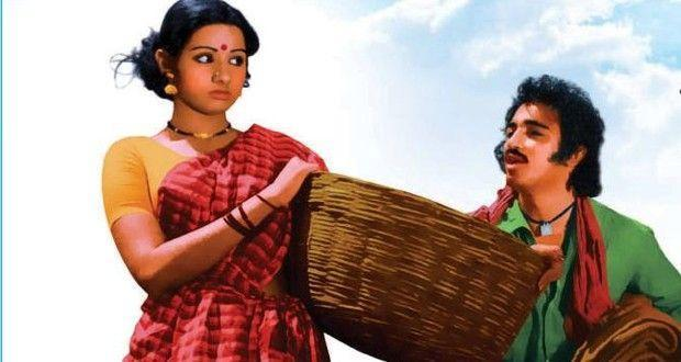 <p>This romantic drama film again starred Sridevi, Kamal Haasan and Rajinikanth in the lead roles. However, Sridevi plays the pivotal role in this film as a 16-year-old vulnerable school-girl who dreams of marrying an educated man and becoming a teacher. Fate has different plans for her when a limping orphan (Kamal Haasan), sheltered by her mother, falls in love with her, but she falls in love with an urban veterinarian (Satyajit) in the hope that she would be able live a city life. However, it later turns out that Satyajit only intends to sexually exploit her and leaves her in lurch when she refuses his advances. Following this disappointment, her mother quickly plans to betroth her to someone else, but the village ruffian Parattai (Rajinikanth) who lusts after Sridevi spreads rumours about her affair with Satyajit, her marriage is stalled and the village is hostile towards her. Unable to bear the shame, Sridevi's mother dies leaving Kamal Haasan to take care of her. Over time she builds a bond with Kamal Haasan who protects her from being raped by Rajinikanth in the climax. He is jailed for murdering Rajinikanth, but Sridevi wows to wait for him to return from jail. </p>
