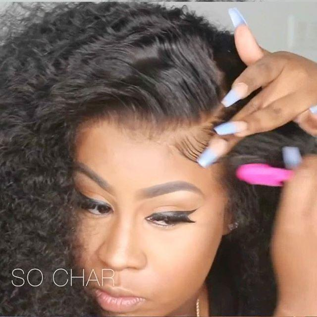 """<p>Influencers also rave about the wigs from Wow African, particularly its curly units. The brand carries everything from lace-front to full-lace wigs, but beauty YouTuber <a href=""""https://www.youtube.com/watch?v=JCp3MZlIKdY"""" rel=""""nofollow noopener"""" target=""""_blank"""" data-ylk=""""slk:So Char"""" class=""""link rapid-noclick-resp"""">So Char</a> loves <a href=""""https://www.wowafrican.com/150-density-360-lace-wig-curly-brazilian-virgin-hair-tlw26.html"""" rel=""""nofollow noopener"""" target=""""_blank"""" data-ylk=""""slk:this 360 lace wig"""" class=""""link rapid-noclick-resp"""">this 360 lace wig</a> for its <strong>removable, adjustable strap, pre-plucked hairline, and bleached knots</strong>—and once you try one for yourself, you will, too. </p><p><a class=""""link rapid-noclick-resp"""" href=""""https://www.wowafrican.com/"""" rel=""""nofollow noopener"""" target=""""_blank"""" data-ylk=""""slk:SHOP NOW"""">SHOP NOW</a></p><p><a href=""""https://www.instagram.com/p/CEibFoXnAvx/?utm_source=ig_embed&utm_campaign=loading"""" rel=""""nofollow noopener"""" target=""""_blank"""" data-ylk=""""slk:See the original post on Instagram"""" class=""""link rapid-noclick-resp"""">See the original post on Instagram</a></p>"""