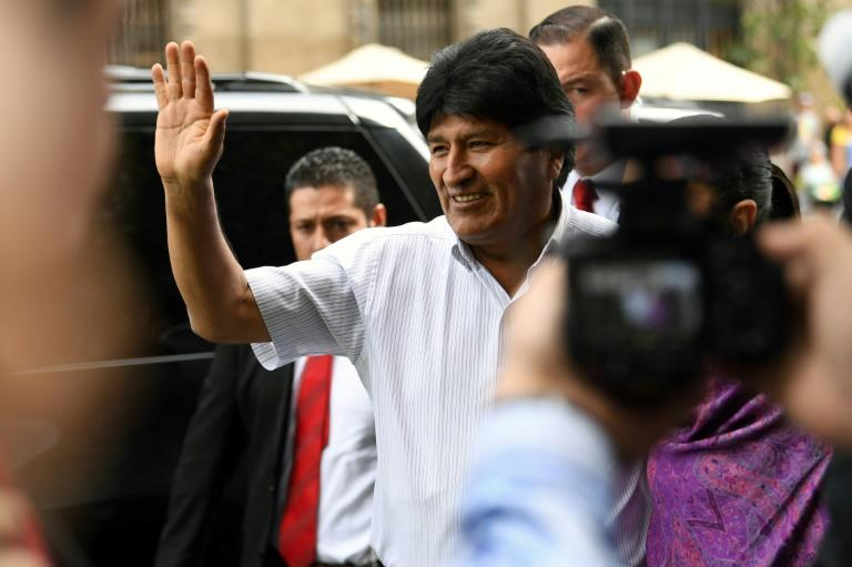 Bolivian ex-President Evo Morales condemned the death in a tweet from Mexico, which granted him political asylum after he resigned (AFP Photo/PEDRO PARDO)