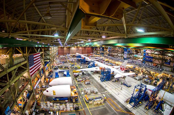 Boeing 787 Everett Factory