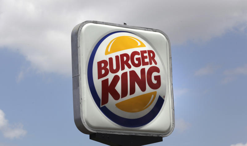 FILE - This Wednesday June 20, 2012 file photo shows a Burger King sign in Richardson, Texas. British and Irish burger fans could face a Whopper shortage after Burger King announced Thursday Jan. 24, 2013, it has stopped buying beef from an Irish meat processor whose patties were found to contain traces of horse DNA. (AP Photo/LM Otero, File)