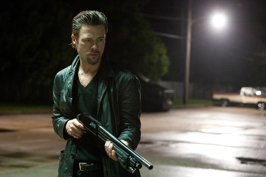""" Killing Them Softly "" Release date: October 19 Starring: Brad Pitt, Mark Ruffalo and Javier Bardem"