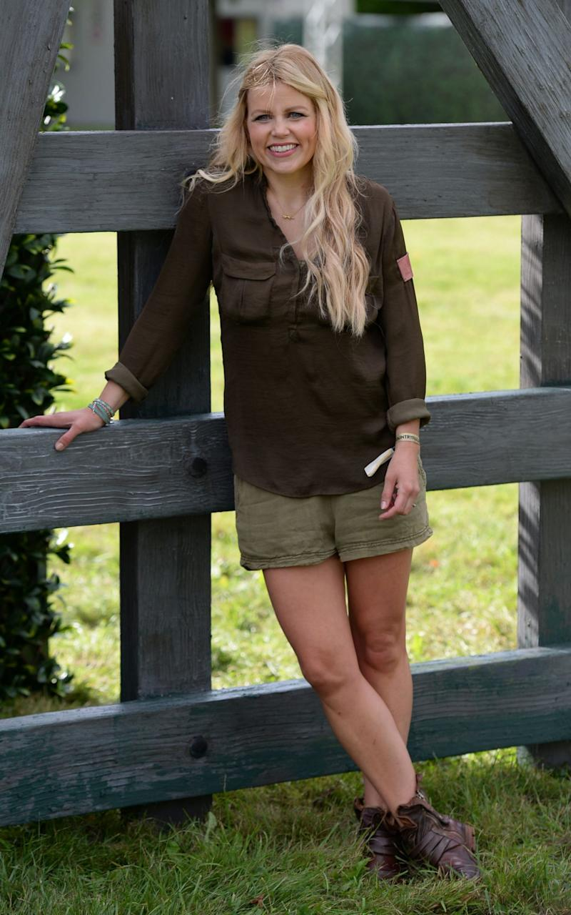 Ellie Harrison during the photocall to open BBC Countryfile Live at Blenheim Palace - Credit: Joe Giddens/PA