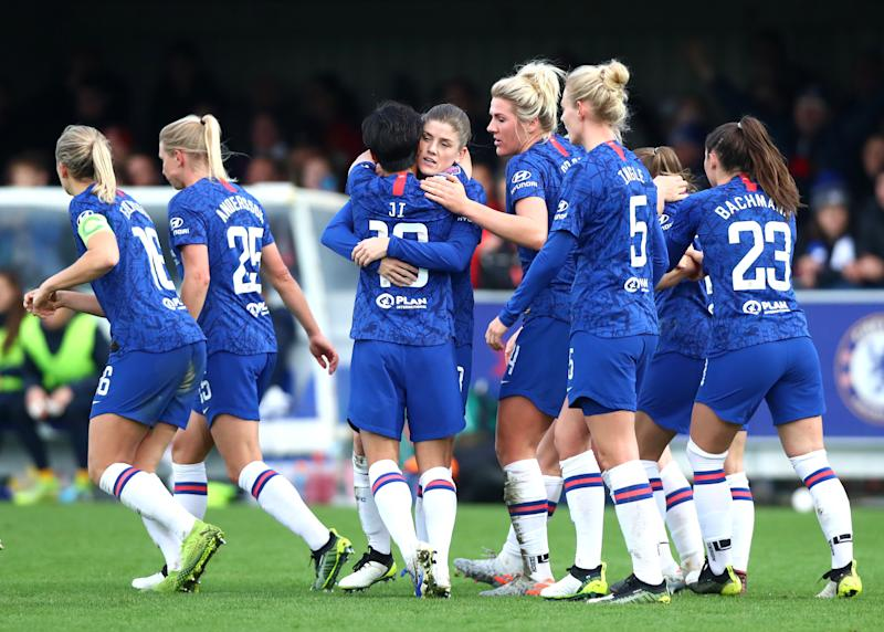 Chelsea were jubilant as they extended their stay at the top of the table
