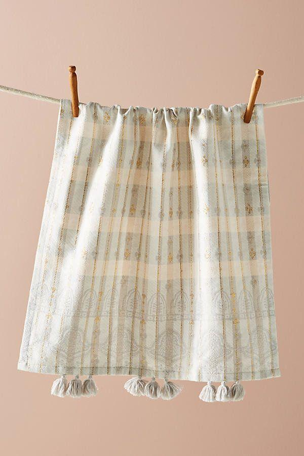 "Because everyone could use a <a href=""https://www.anthropologie.com/shop/freya-dish-towel?category=kitchen-dishtowels&color=015"" target=""_blank"">new dish towel</a> to replace the ratty one in their kitchen."