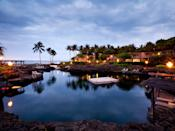 """<p>Fresh off a $100 million renovation, the <a href=""""https://www.cntraveler.com/hotels/united-states/big-island/four-seasons-hualalai-at-historic-ka-upulehu-big-island?mbid=synd_yahoo_rss"""" rel=""""nofollow noopener"""" target=""""_blank"""" data-ylk=""""slk:Four Seasons Resort Hualalai"""" class=""""link rapid-noclick-resp"""">Four Seasons Resort Hualalai</a> debuted its new look in March, 2021. It's a <a href=""""https://www.cntraveler.com/story/how-free-diving-in-hawaii-taught-me-to-slow-down-in-life?mbid=synd_yahoo_rss"""" rel=""""nofollow noopener"""" target=""""_blank"""" data-ylk=""""slk:Big Island"""" class=""""link rapid-noclick-resp"""">Big Island</a> resort that breaks the mold of the crowded and noisy kid-friendly hotel; on the contrary, it remains delightfully low-key. There are seven swimming areas, from a saltwater pool stocked with tropical fish (one of Hawaii's best hotel swimming pools, hands down) to a shallow freshwater Keiki Pool (meaning that it's just for tots). The resort also offers free family-friendly activities like outdoor rock climbing, canoeing, Hawaiian arts and crafts, movies, lei-making, and beach games. And teens won't want to miss Hale Kula, a game and activity center geared primarily toward young adults, with a state-of-the-art entertainment center, six video game stations, and a grassy area for organized outdoor games. When it comes to dining, forget mediocre kid's menus as well—the resort will happily organize dinners on the beach with a private chef to cater to your family's varying tastes.</p> <p><strong>Book now:</strong> From $1,012 per night, <a href=""""https://cna.st/affiliate-link/4cnpy7ZU5H7iZQozcMpRBvnAKZbKuVhpqrR1cDT5wWs3uWJthSdz9iQ2PvTVJ9FNLSDfXwhcpDHXjt7FTFnjkYG456RuTcJekWPzgLUcLAfaFmYBzK8HMMQ5cRdgCmAHa8giiKQuUrNCEgmepU7p68d36B7mQVVtL3iCsQojwcR?cid=5509907f481a91bb7819ff19"""" rel=""""nofollow noopener"""" target=""""_blank"""" data-ylk=""""slk:expedia.com"""" class=""""link rapid-noclick-resp"""">expedia.com</a></p>"""