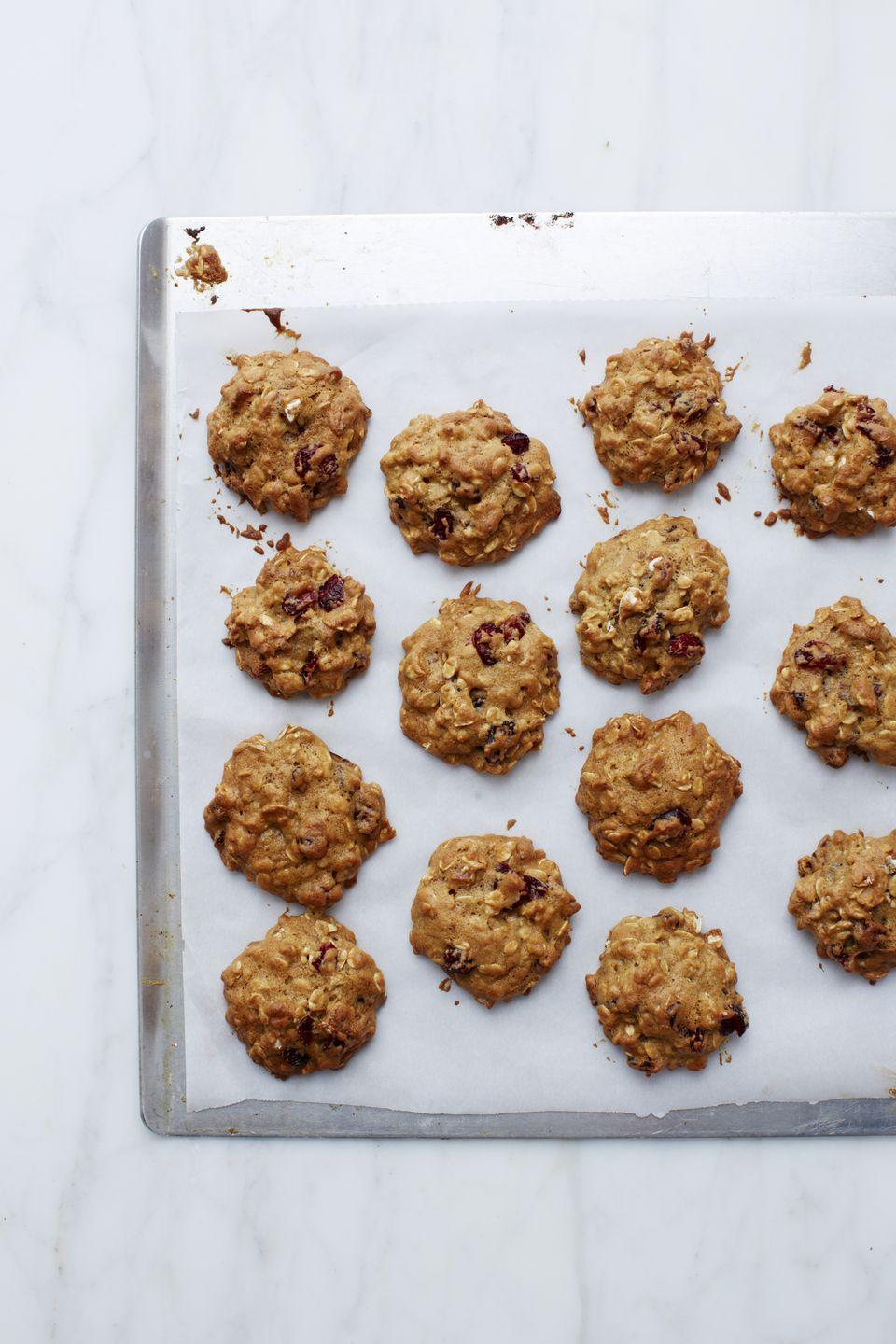 """<p>These taste like a cross between oatmeal cookies and banana bread. Yep, you'll want to make a double batch.</p><p><em><a href=""""https://www.goodhousekeeping.com/food-recipes/a15131/banana-oat-cookies-recipe-wdy0213/"""" rel=""""nofollow noopener"""" target=""""_blank"""" data-ylk=""""slk:Get the recipe for Banana Oat Cookies »"""" class=""""link rapid-noclick-resp"""">Get the recipe for Banana Oat Cookies »</a></em></p><p><strong>RELATED: </strong><a href=""""https://www.goodhousekeeping.com/food-recipes/g32631508/easy-banana-recipes/"""" rel=""""nofollow noopener"""" target=""""_blank"""" data-ylk=""""slk:23 Easy Banana Recipes for Sweet Baked Goods and Fruity Treats"""" class=""""link rapid-noclick-resp"""">23 Easy Banana Recipes for Sweet Baked Goods and Fruity Treats</a></p>"""