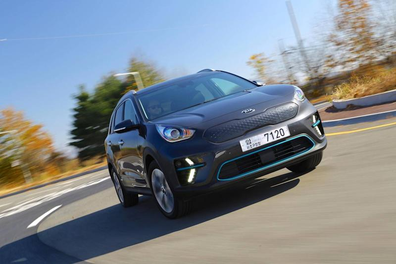 The Kia e-Niro can be recharged in just 54 minutes (Kia)