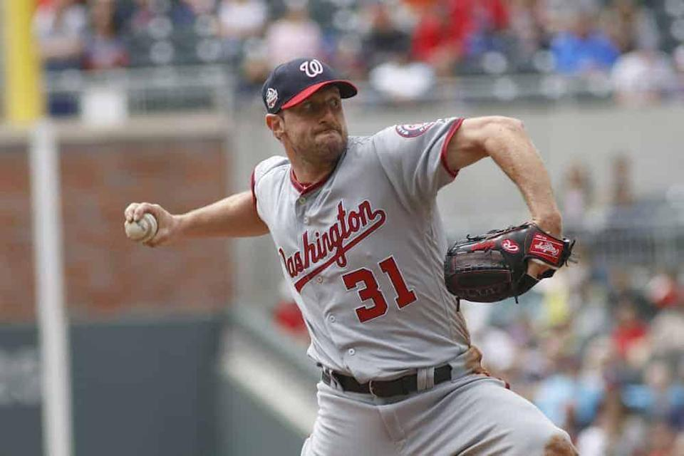MLB DFS Picks, top stacks and pitchers for Yahoo, DraftKings & FanDuel daily fantasy baseball lineups, including Max Scherzer | Sunday 6/27