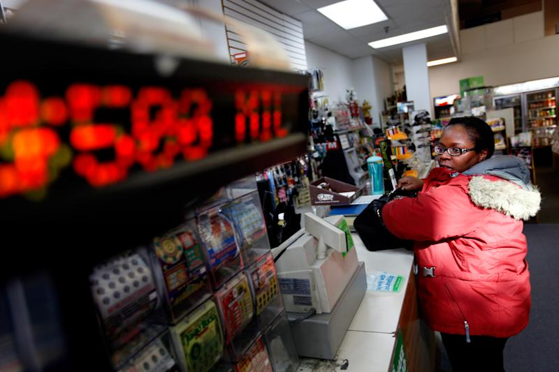 Numbers drawn for record Powerball jackpot