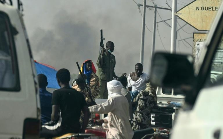 Chad police used tear gas to break up anti-junta demonstrations called by the opposition and civil society groups They used tear gas in the capital to disperse small groups of demonstrators, some of whom burned t