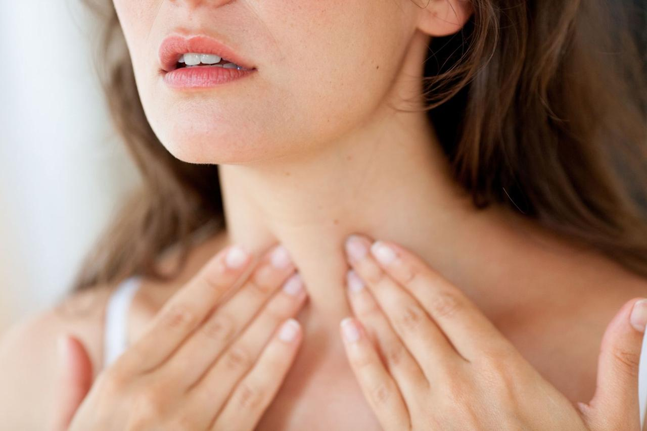 """<p>Weight loss is a common <a href=""""http://www.prevention.com/health/9-thyroid-symptoms-to-look-out-for/slide/3"""">symptom of hyperthyroidism</a>—or an over-active thyroid, Dr. Cappola says. This means your thyroid—the butterfly-shaped gland in your neck that helps regulate your <a href=""""https://www.prevention.com/weight-loss/a20478794/boost-metabolism-with-the-high-metabolism-diet/"""" target=""""_blank"""">metabolism</a> and growth—is pumping out too many hormones, resulting in a slew of body changes.</p><p>""""If I suspected a thyroid issue, I'd probably look for increased hunger or heart palpitations,"""" she explains. Sleeping problems or <a href=""""https://www.prevention.com/health/a20484754/6-common-causes-of-hot-flashes-that-arent-menopause/"""" target=""""_blank"""">feeling hot</a> all the time are also common symptoms of an over-active thyroid, she says.</p>"""