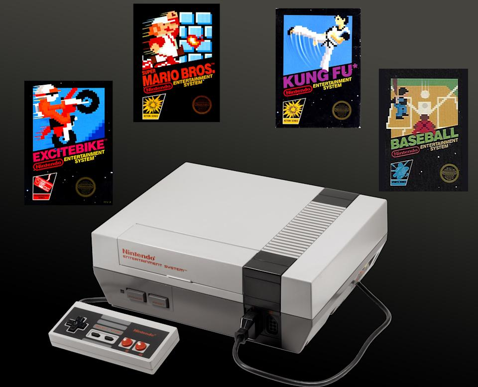 The console that revived the video game industry after its notorious 1983 crash had quite the task ahead of it, but Nintendo's debut delivered big time right from the start. Super Mario Bros. was, of course, the headliner, but mention some of the other launch titles -- including Duck Hunt, ExciteBike, Baseball and Kung Fu -- and people still smile today.