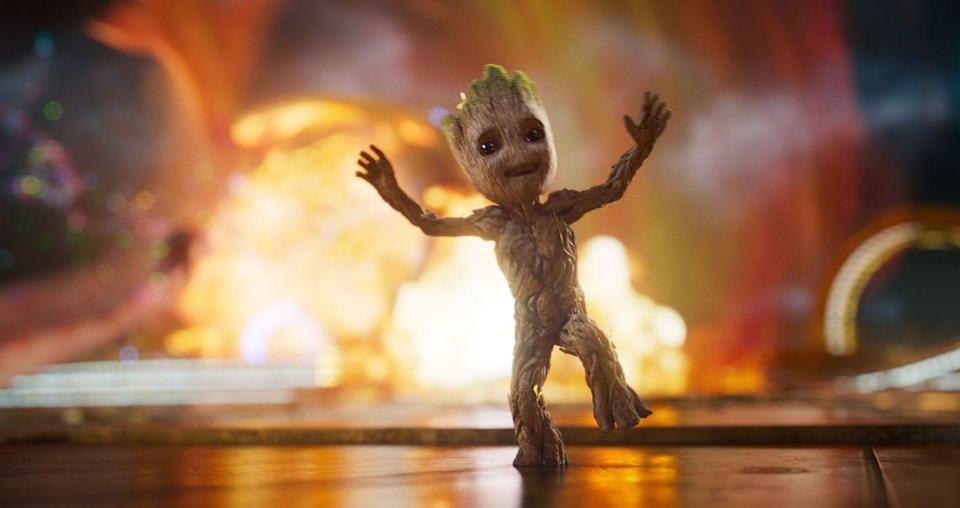 """<p>Star-Lord and the rest of the gang — including a Baby Groot! — return for more space adventures, there's a reckoning about what it means to be a family.</p><p><a class=""""link rapid-noclick-resp"""" href=""""https://www.amazon.com/Guardians-Galaxy-Vol-2-Theatrical/dp/B0716DT6G3?tag=syn-yahoo-20&ascsubtag=%5Bartid%7C10055.g.29023076%5Bsrc%7Cyahoo-us"""" rel=""""nofollow noopener"""" target=""""_blank"""" data-ylk=""""slk:AMAZON"""">AMAZON</a> <a class=""""link rapid-noclick-resp"""" href=""""https://go.redirectingat.com?id=74968X1596630&url=https%3A%2F%2Fwww.disneyplus.com%2Fmovies%2Fmarvel-studios-guardians-of-the-galaxy-vol-2%2FZdRX4mMbp1gM&sref=https%3A%2F%2Fwww.goodhousekeeping.com%2Flife%2Fentertainment%2Fg29023076%2Fmarvel-movies-mcu-in-order%2F"""" rel=""""nofollow noopener"""" target=""""_blank"""" data-ylk=""""slk:DISNEY+"""">DISNEY+</a></p>"""