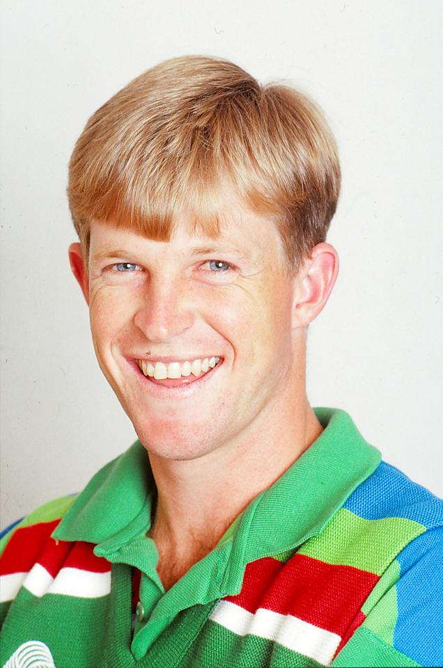 AUSTRALIA - 1992: A portrait of Jonty Rhodes of South Africa. (Photo by Getty Images)