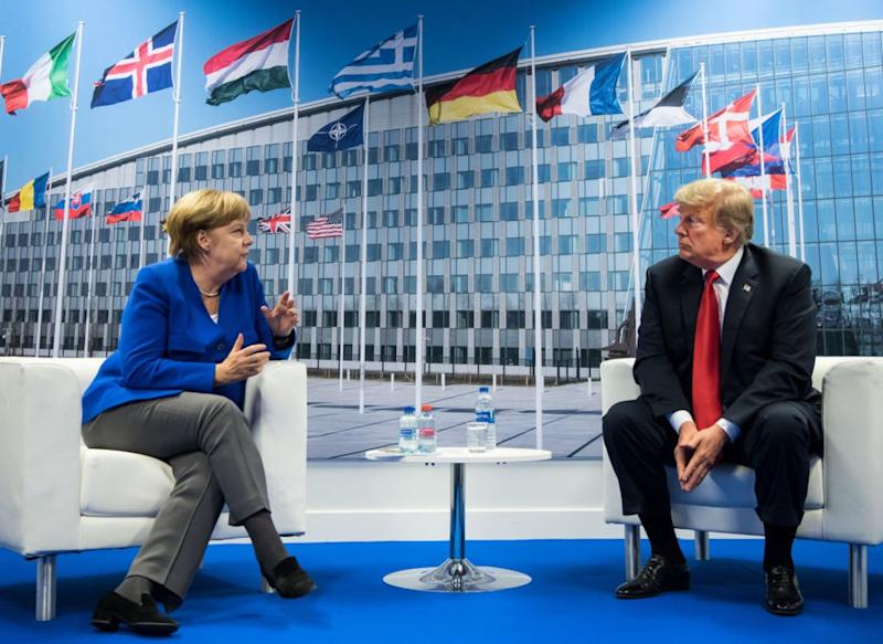 Germany Is Nobody's 'Captive,' Mr. Trump