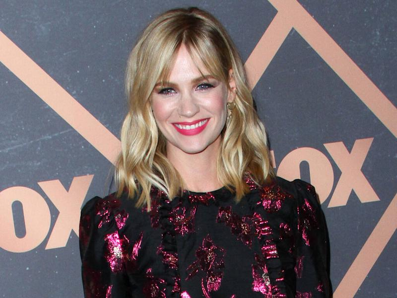 January Jones has seen 'amazing results' from daily celery juice drink